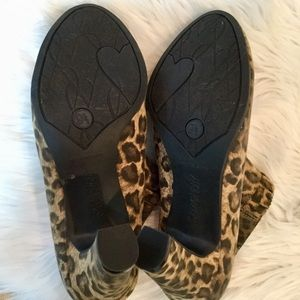 Sam & Libby Shoes - NWOT, Sam & Libby Animal Print Booties, 9.5